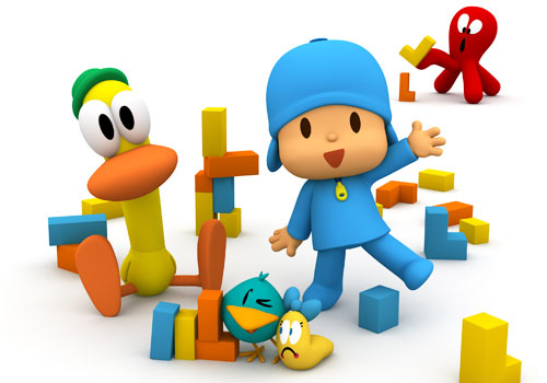 Funny games of Pocoyo
