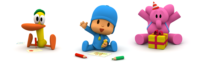 Contests for kids of Pocoyo