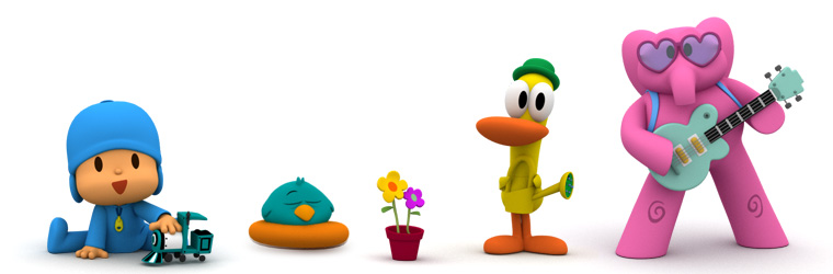 Enjoy in the Playground of Pocoyo