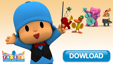 Classical Music for babies and kids: Pocoyo's melodies