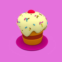 Share pictures of desserts and cakes with friends of Pocoyo