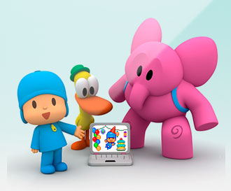 Pocoyo personalized videos