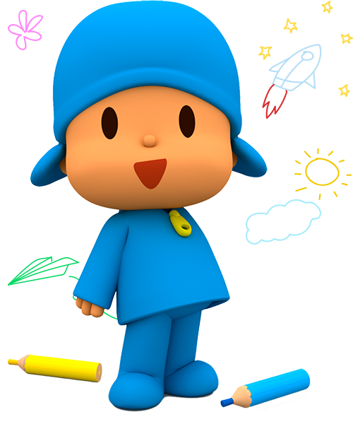 Activities for kids - Back to school - school supplies | Pocoyo