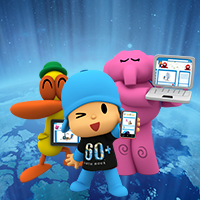 Join Earth Hour with Pocoyo and his friends