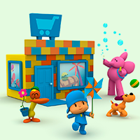 Hours of fun with Pocoyo World episodes