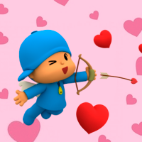 Valentine's Day with Pocoyo