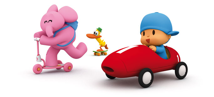 Craft Projects Pocoyo Pocoyo's car