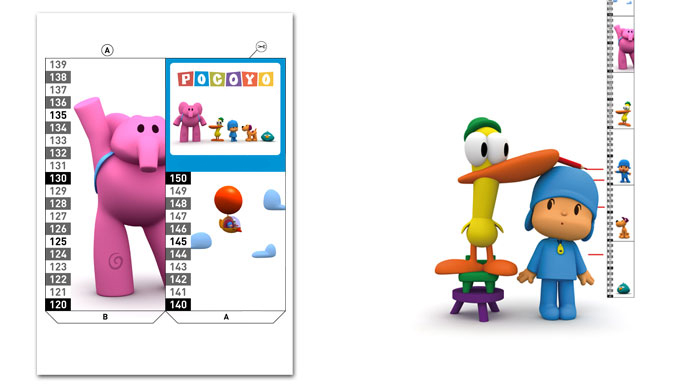 Craft Projects Pocoyo Height chart