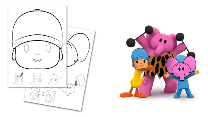 Craft Projects Pocoyo Masks