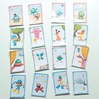 Pocoyo's Happy Families Card Game