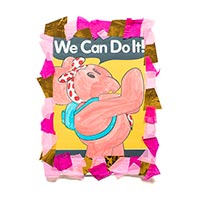 Elly we can do it poster