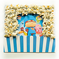 Scrapbooking with Pocoyo - Let's go to the movies!