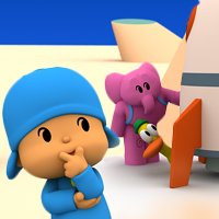 Mystery games: the spatial hide and seek of Pocoyo